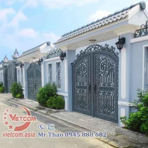 Cổng tự động biệt thự tại Vinh Nghệ An
