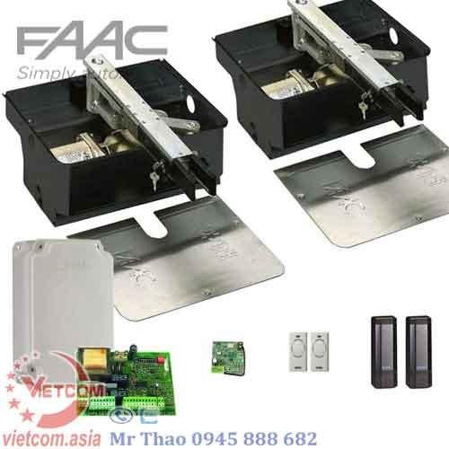 Cổng tự động âm sàn FAAC ROLLER 500kg/Cánh