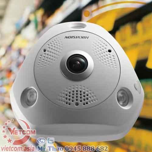 Canera IP mắt cá thông minh 3MP DS-2CD6332FWD-IVS