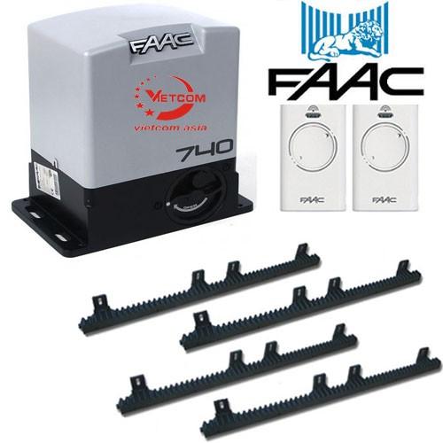 Cổng trượt tự động FAAC 740