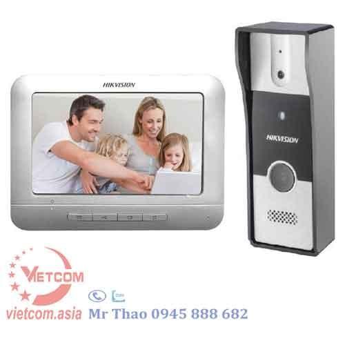 Bộ chuông cửa màn hình HIKVISION DS-KIS202