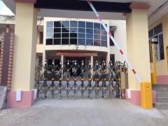 Cổng xếp tự động tại Vinh Nghệ An Hà Tĩnh