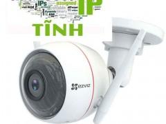 Hướng dẫn cách cài đặt IP tĩnh cho Camera EZVIZ